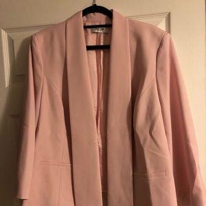 Jones Studio Jackets & Coats - Pastel pink, plus size blazer, never worn